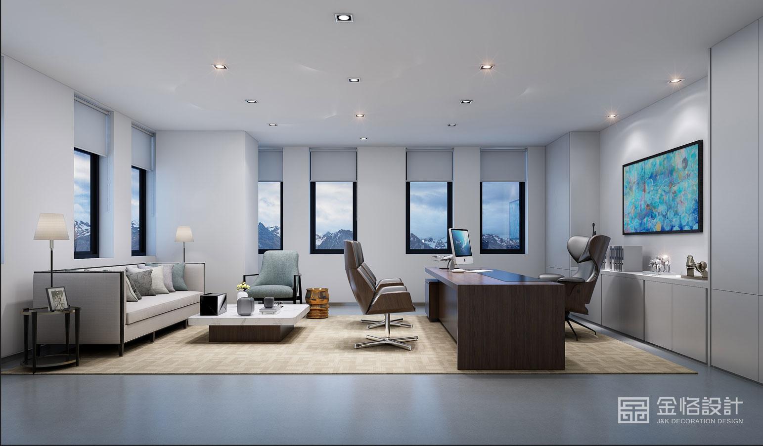 中大型办公室设计需注意5大要点